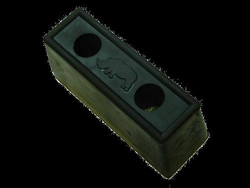 200900 Отбойник 190x67x80mm резиновый