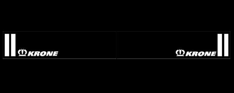 Intertruck. 350381116. Брызговик 2400mm бампера с логотипом KRONE к-т 2 шт_