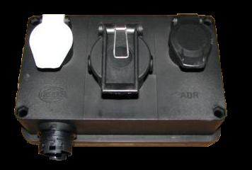 6603571 Адаптер HELLA передний с розетками