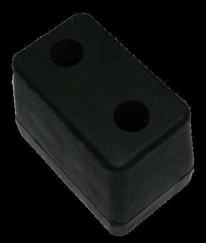 199000 Отбойник 120x75x90mm резиновый