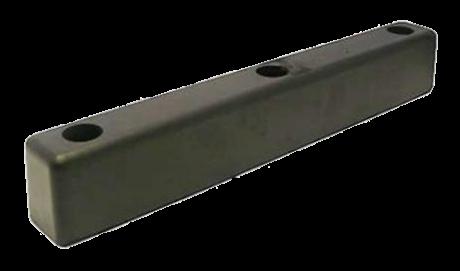 198600 Отбойник 375,5x65x68 3xM10 SCHMITZ резиновый