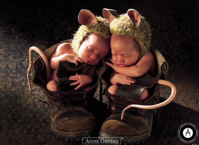 мышата в ботинке