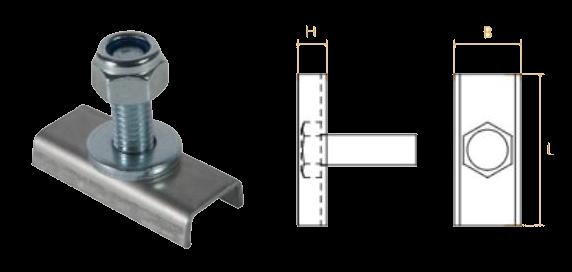 TK1390 Пластина крепления боковой защиты