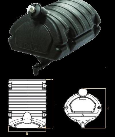 TK2525 Бак для воды 30L