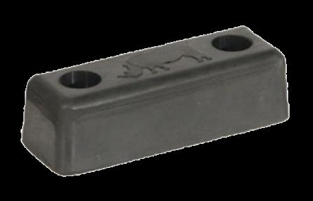 199400 Отбойник 140х50х40mm резиновый