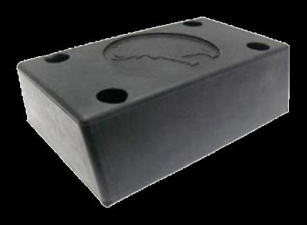 199900 Отбойник 180х124х70mm резиновый