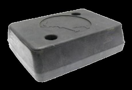 200000 Отбойник 165х125х60mm резиновый