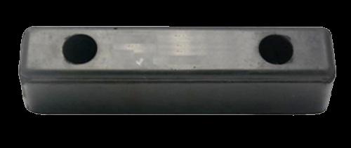 200100 Отбойник 250х55х60mm резиновый
