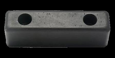 200500 Отбойник 200х52х60mm резиновый