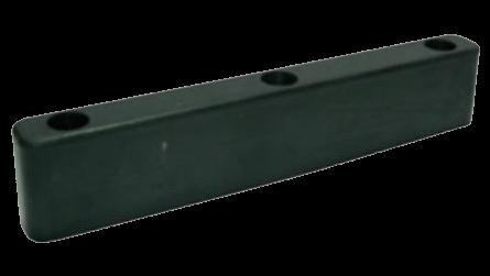 200600 Отбойник 320х35х60mm резиновый