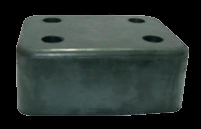 200700 Отбойник 200х150х80mm резиновый