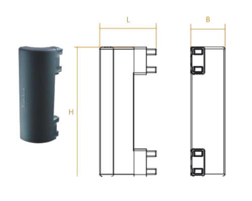 TK1030 Угловой соединитель боковой защиты 300mm