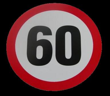 345551165 Табличка ограничения скорости 60km