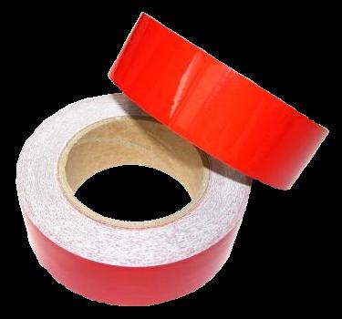 25SLR Светоотражающая лента красная 40mm - 25m