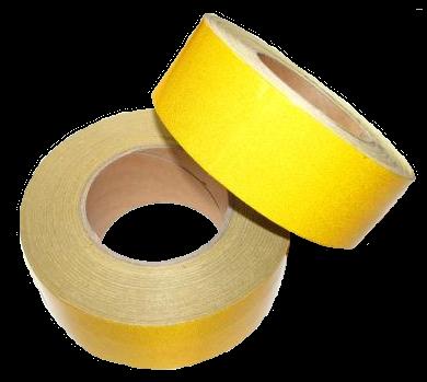505SLY Светоотражающая лента жёлтая 50mm - 25m