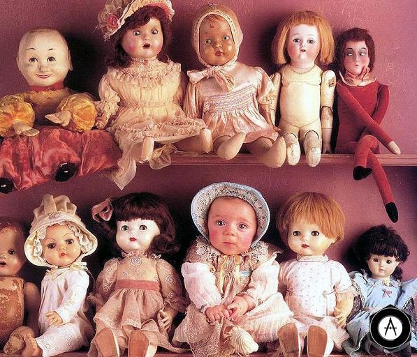 с куклами