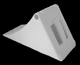 250141652 Противооткатный упор пластиковый 200mm
