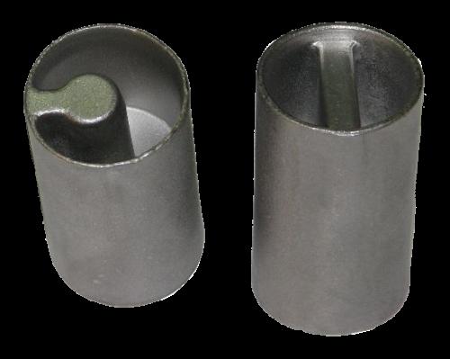 Адаптер-переходник трещотки натяжки тента, прорезь-полумесяц