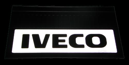 82548 Кмт 2шт светоотражающих брызговиков 580x360mm Iveco