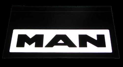 82549 Кмт 2шт светоотражающих брызговиков 580x360mm MAN