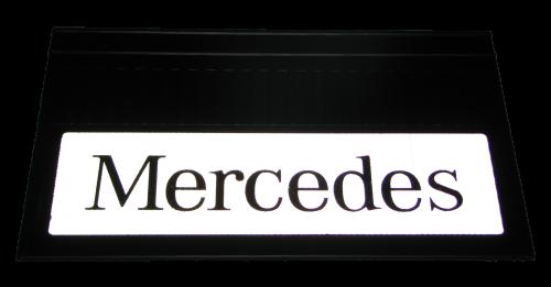 82550 Кмт 2шт светоотражающих брызговиков 580x360mm Mercedes