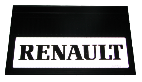 82551 Кмт 2шт светоотражающих брызговиков 580x360mm Renault