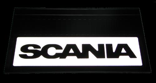 82552 Кмт 2шт светоотражающих брызговиков 580x360mm Scania
