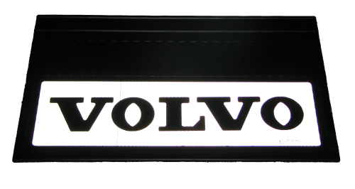 82553 Кмт 2шт светоотражающих брызговиков 580x360mm Volvo