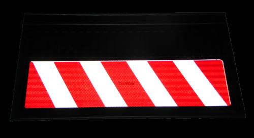 82555 Кмт 2шт светоотражающих брызговиков 580x360mm НЕГАБАРИТ