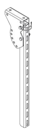 380561446 Кронштейн держатель боковой защиты