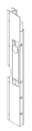 602075300 Профиль правый бокового борта 800mm
