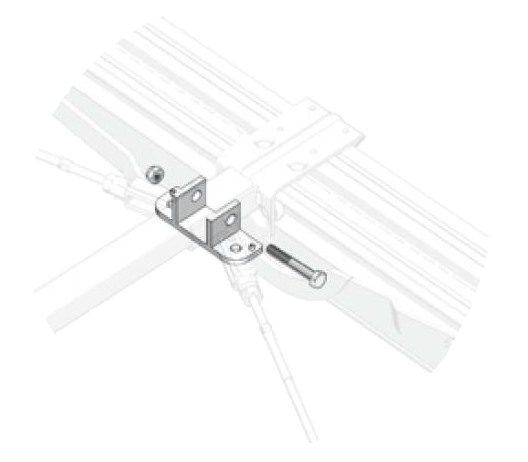 38061330 Фиксатор для роликовой тележки UltraLine