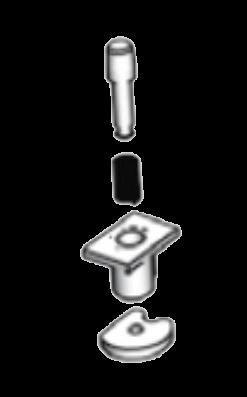 37017620 Фиксатор соединительного пальца в разборе