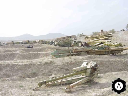 иракское артиллерийское орудие