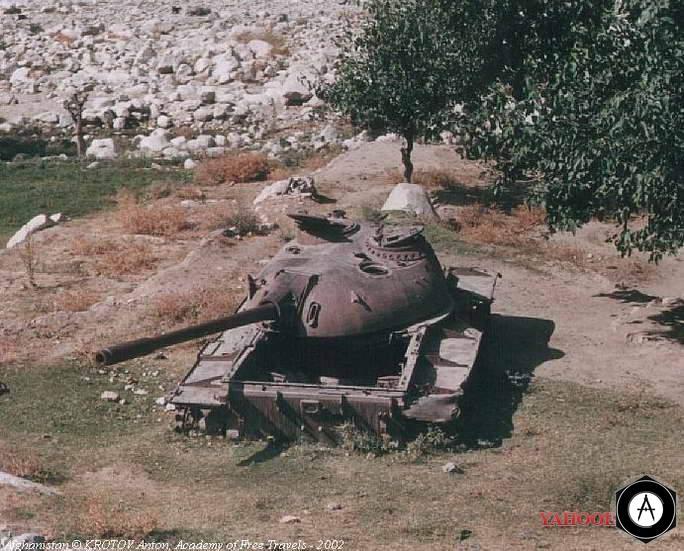 Т-55 где-то в Африке