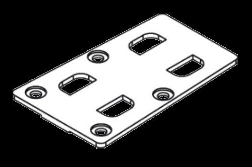 38034120 Пластина соединительная шарнира сдвижной