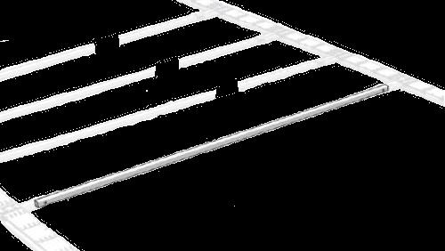 38035210 Поперечина крыши без роликовых тележек 30