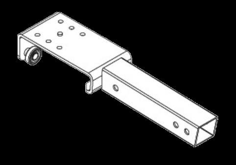 38052110 Тележка роликовая для поперечины крыши