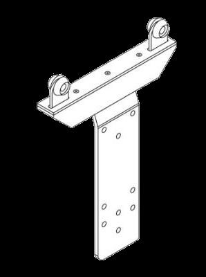 38031490 Несущая роликовая тележка сдвижной боковой стойки