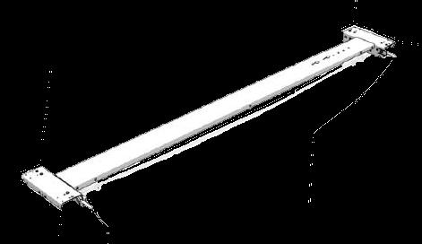 38049070 Каретка задняя сдвижной крыши CS-Profi 25