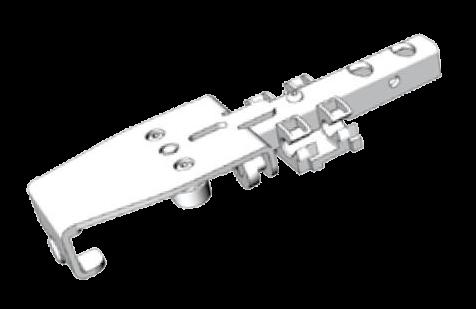 38061260 Тележка роликовая для поперечины крыши
