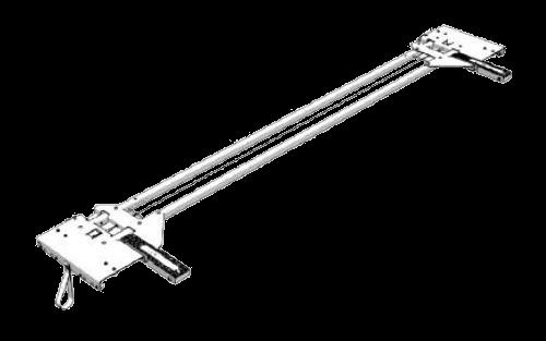 38061880 Каретка сдвижной крыши задняя