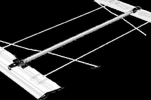 38062270 Поперечена с тележкой сдвижной крыши CS-UL ll 2550mm