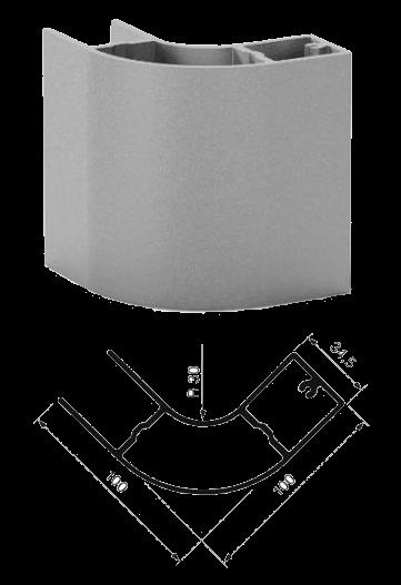 92477231 Вставка передняя профиля боковой защиты
