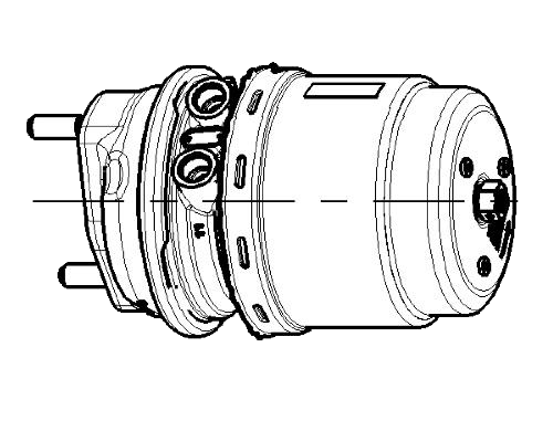 9254811510 Энергоаккумулятор дискового тормоза TYPE24-24