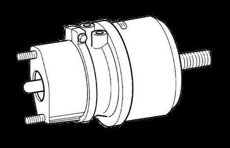 BS8500 Энергоаккумулятор дискового тормоза TYP24-30