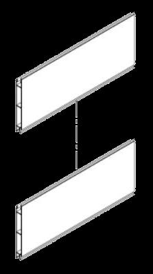344217 Профиль передней стенки промежуточный