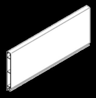 344218 Профиль передней стенки верхний