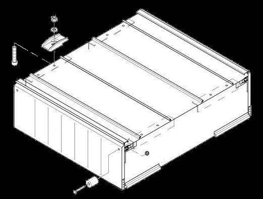 6101036 Палетный ящик в сборе с крепежом