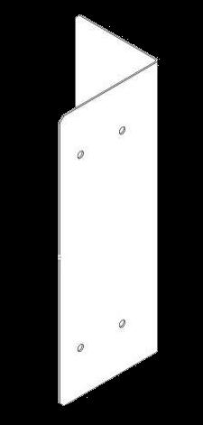 6108049 Торцевой элемент боковой защиты